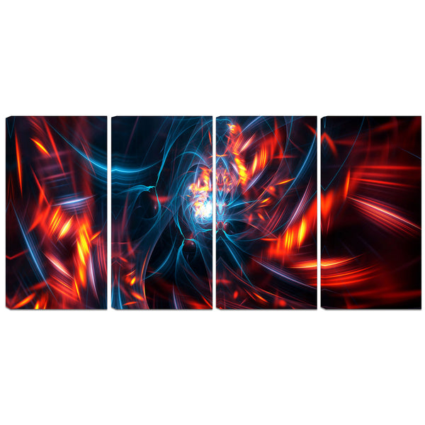 The Illusion Abstract Canvas Wall Art Print