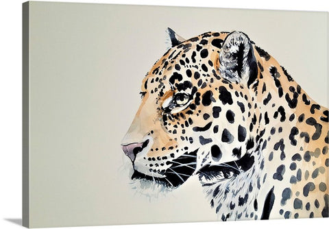 The Leopard Beast Canvas Wall Art Print