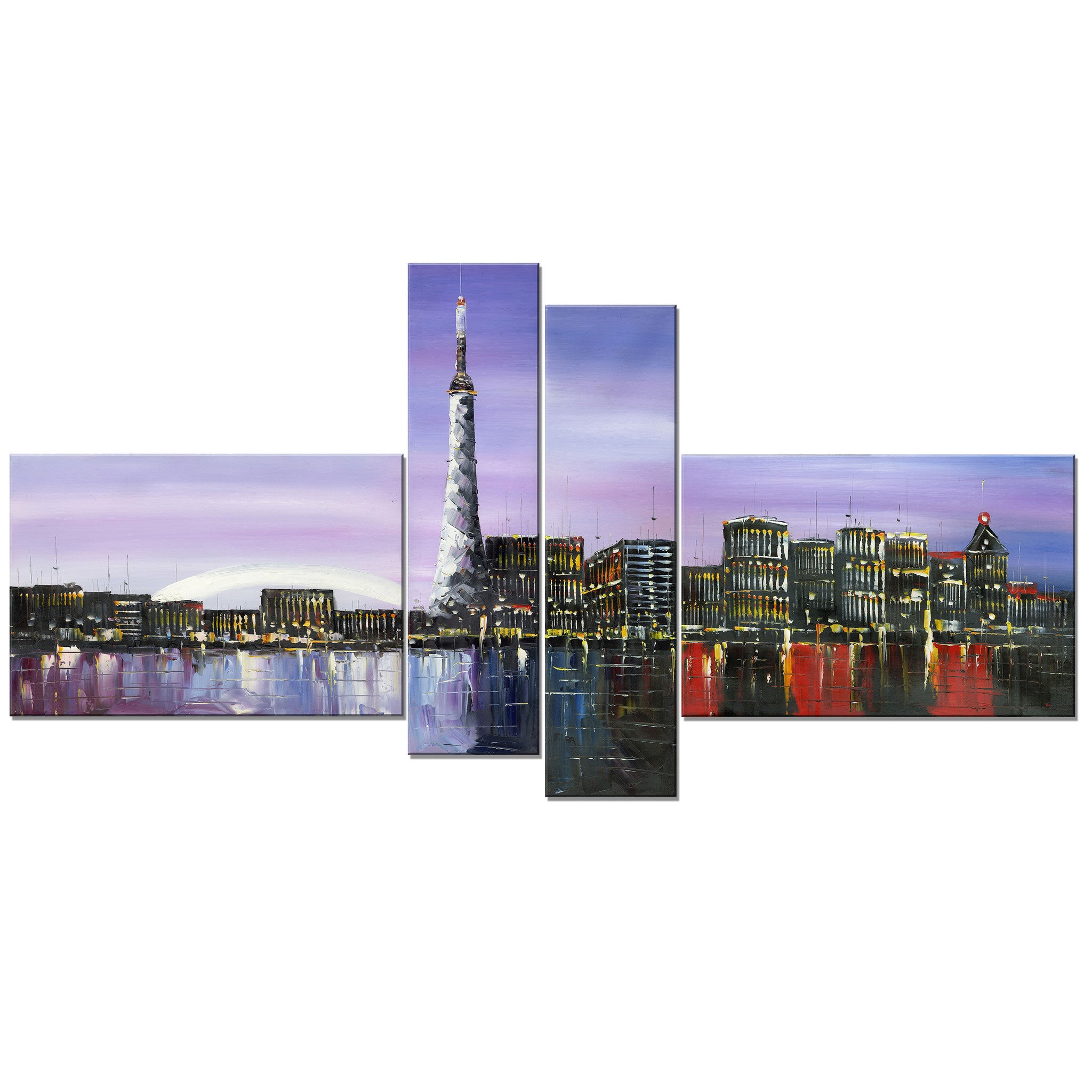 Toronto Cityscape Canvas Wall Art Print