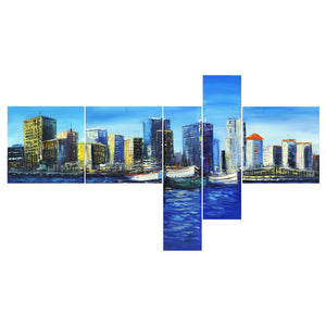 Vancouver Cityscape Canvas Wall Art Print
