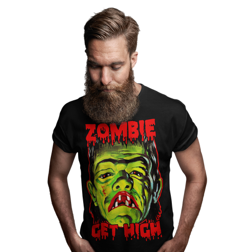Get High Monster Tee