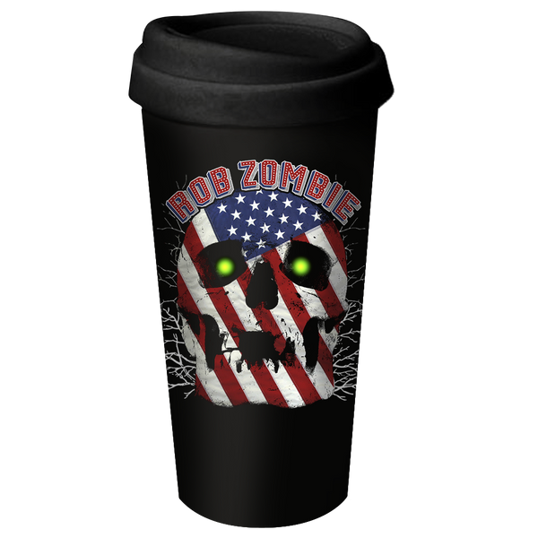 American Made Ceramic Travel Mug