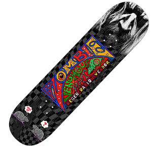 Checkerboard VRRV Skate Deck