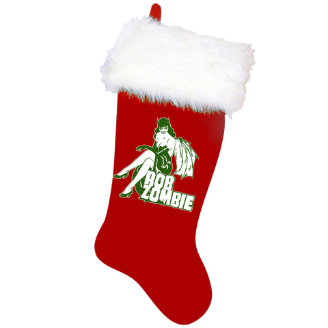 Rob Zombie Christmas Stocking
