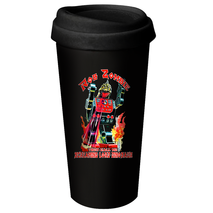 Lord Dinosaur Ceramic Travel Mug