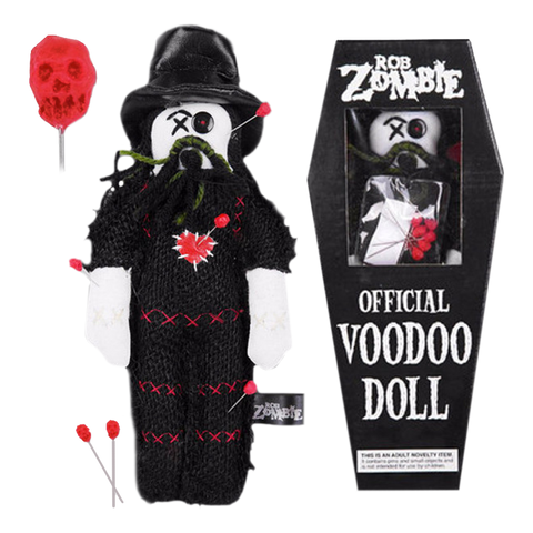 "Rob Zombie 10"" Plush Voodoo Doll"