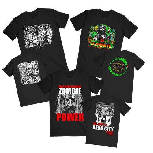 Rob Zombie Tee Bundle