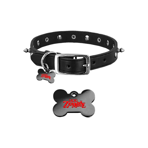 Dog Zombie Spiked Collar