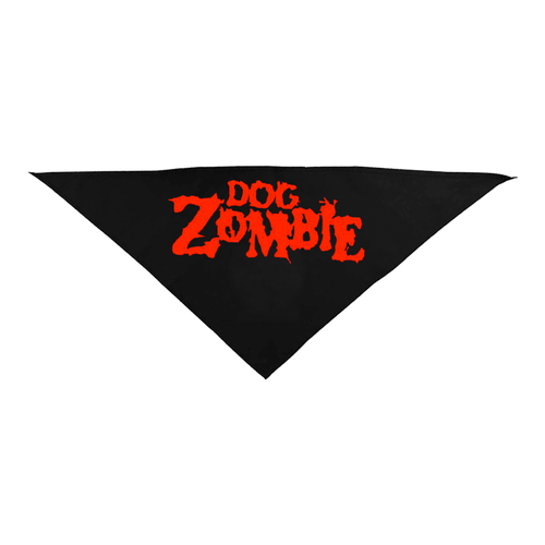 Dog Zombie Black Pet Bandana
