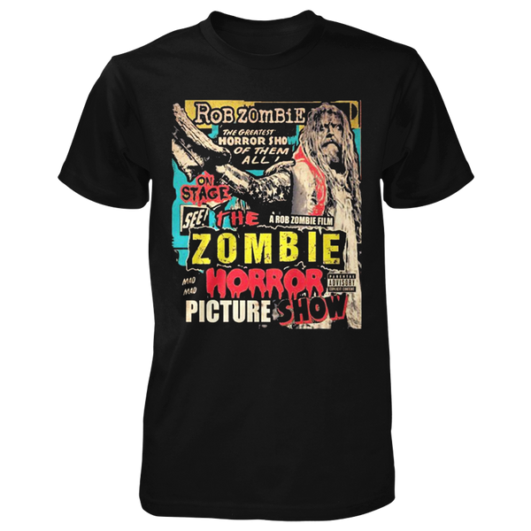 Zombie Horror Picture Show Cover Tee
