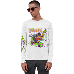 Howling Man White Long Sleeve Tee