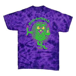 Mean Green Purple Tie Dye Tee