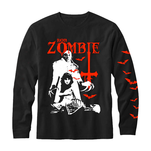 Teenage Nosferatu Pussy Long Sleeve Tee