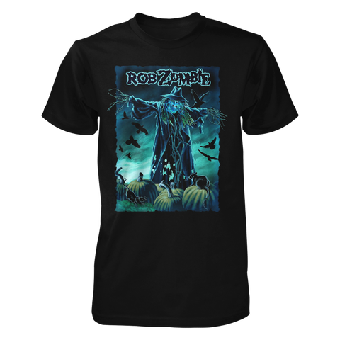 Scarecrow Adult Black Tee