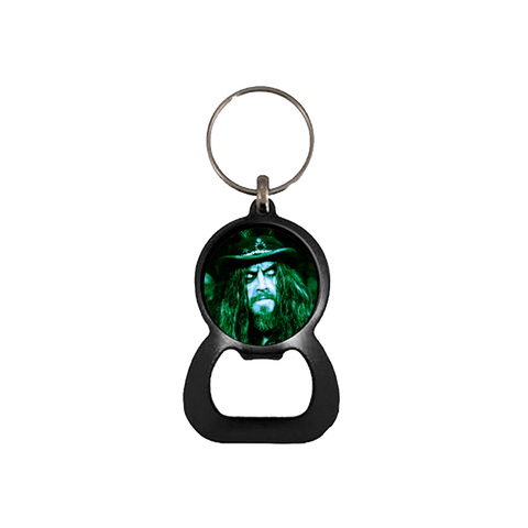 Silent Screen Bottle Opener Keychain
