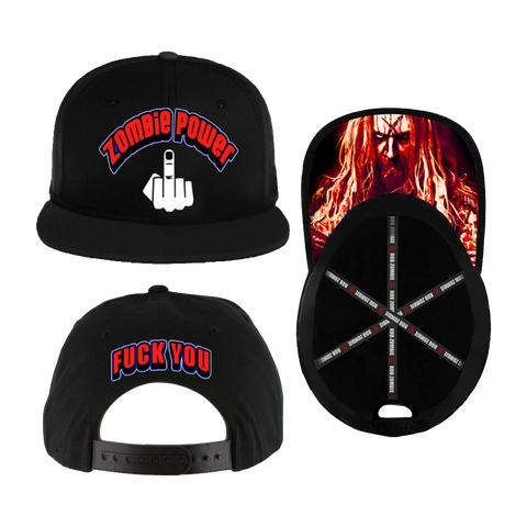 Zombie Power Cross Snapback Cap