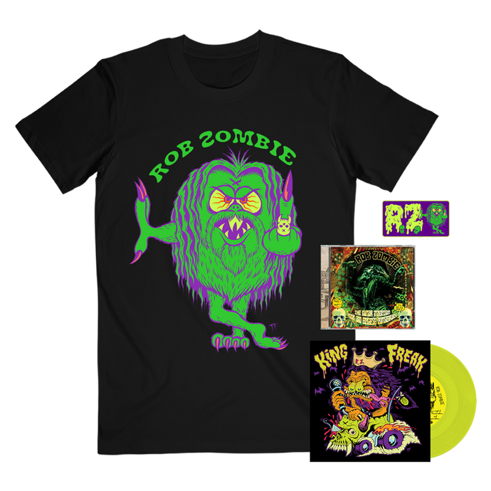 Mean Green Tee, Mean Green Patch + Choose Your Music Bundle