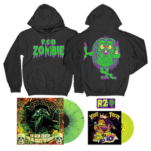 Mean Green Hoodie, Mean Green Patch + Choose Your Music Bundle