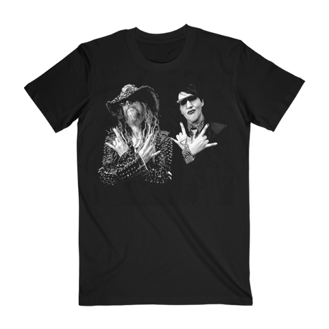 Twins of Evil Band Photo Tee