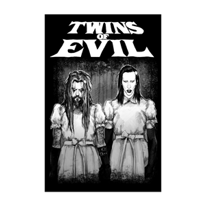 Twins of Evil Lithograph