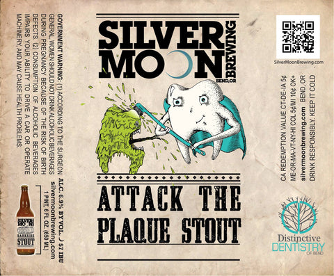 Distinctive Dentistry of Bend Oregon offers its own custom lineup of beer by Silver Moon