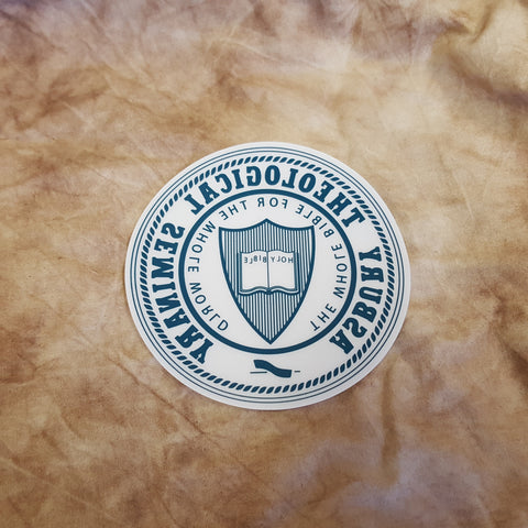 Seminary Seal Window Cling