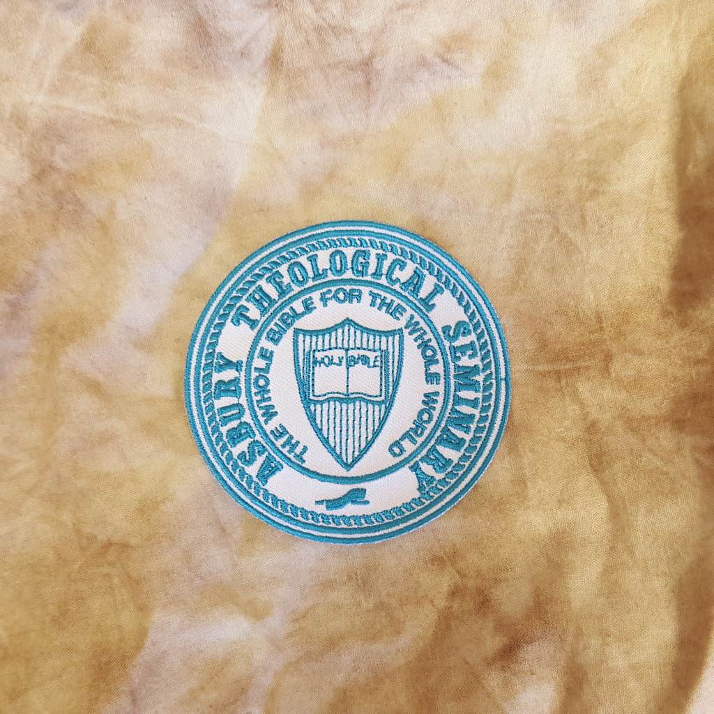 Embroidered Sew-On Seal Patch