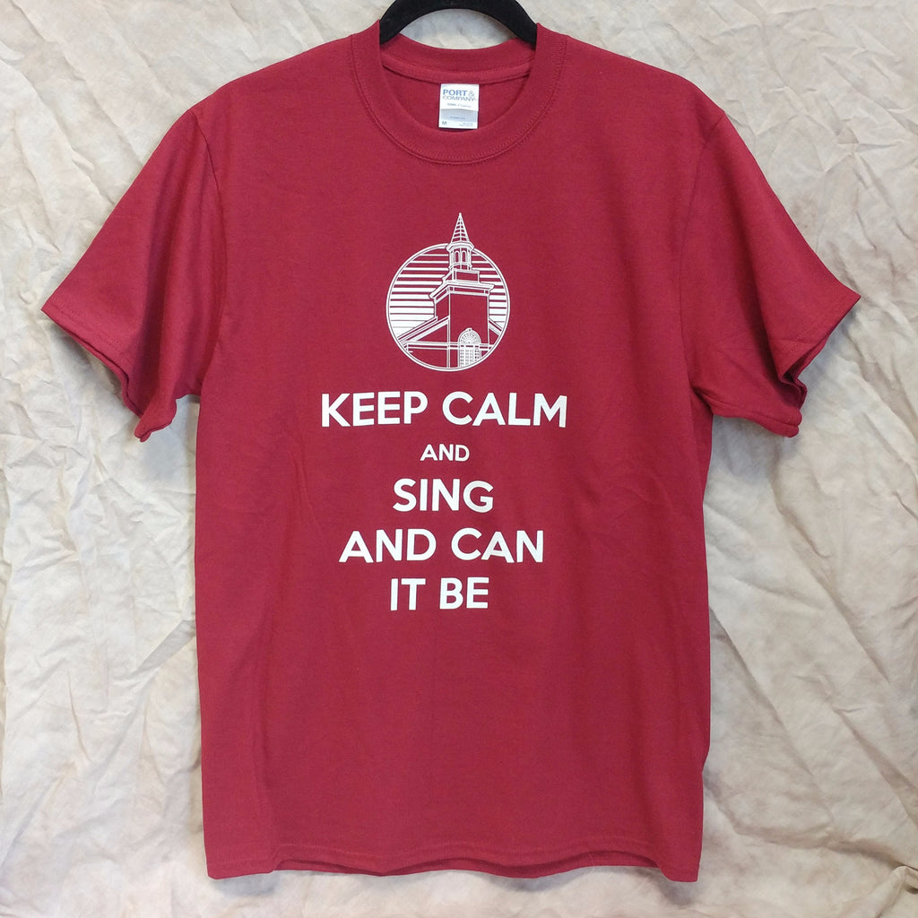 Keep Calm Tshirt (unisex)