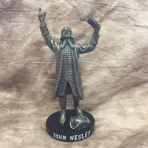 John Wesley Statuette Keepsake - new lower price!