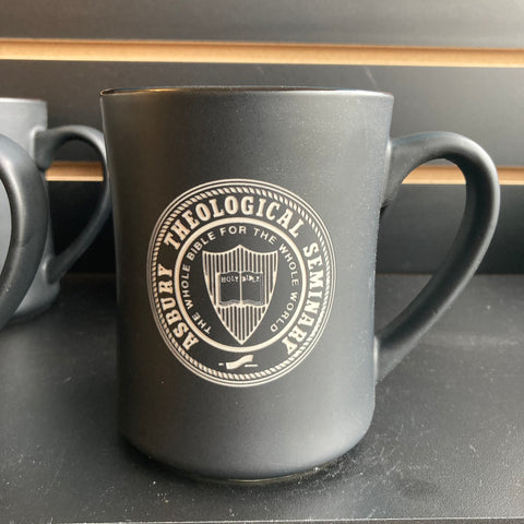 16 oz Etched Premium Black Mug