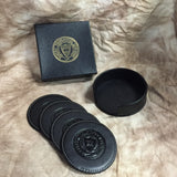 Genuine Leather Coasters