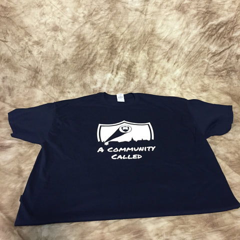 A Community Called T-shirt (men's and women's sizes)