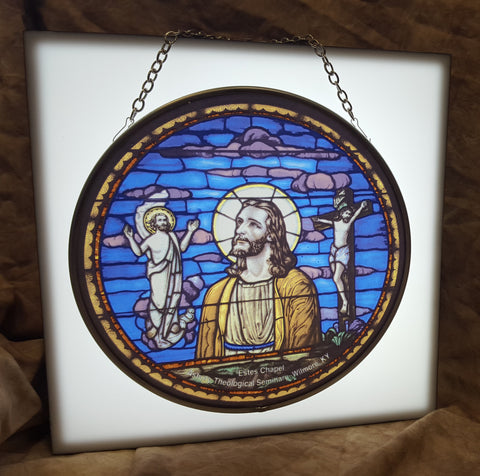 Estes Chapel Christos Window Keepsake