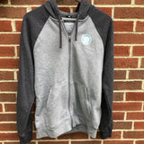 Men's Ultra Soft Two-Tone Full-Zip Hoodie