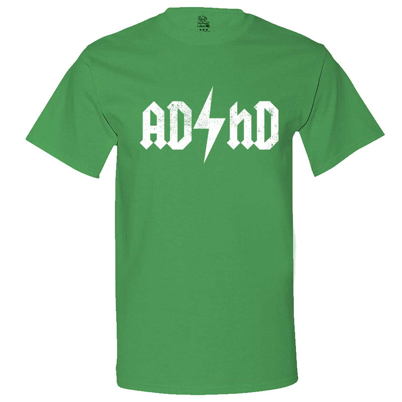 """AD/HD Concert Tee"" men's t-shirt Irish-Green"
