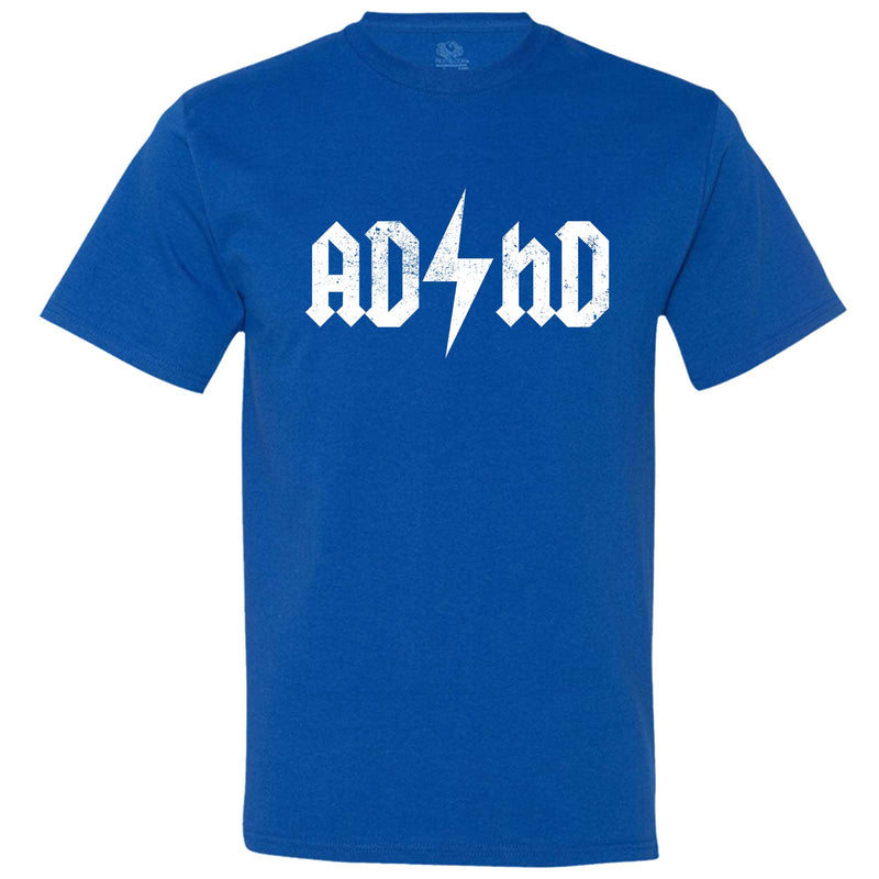 """AD/HD Concert Tee"" men's t-shirt Royal-Blue"