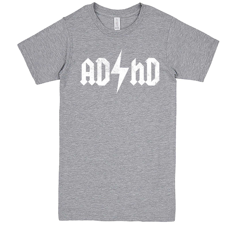 """AD/HD Concert Tee"" men's t-shirt Heather-Grey"
