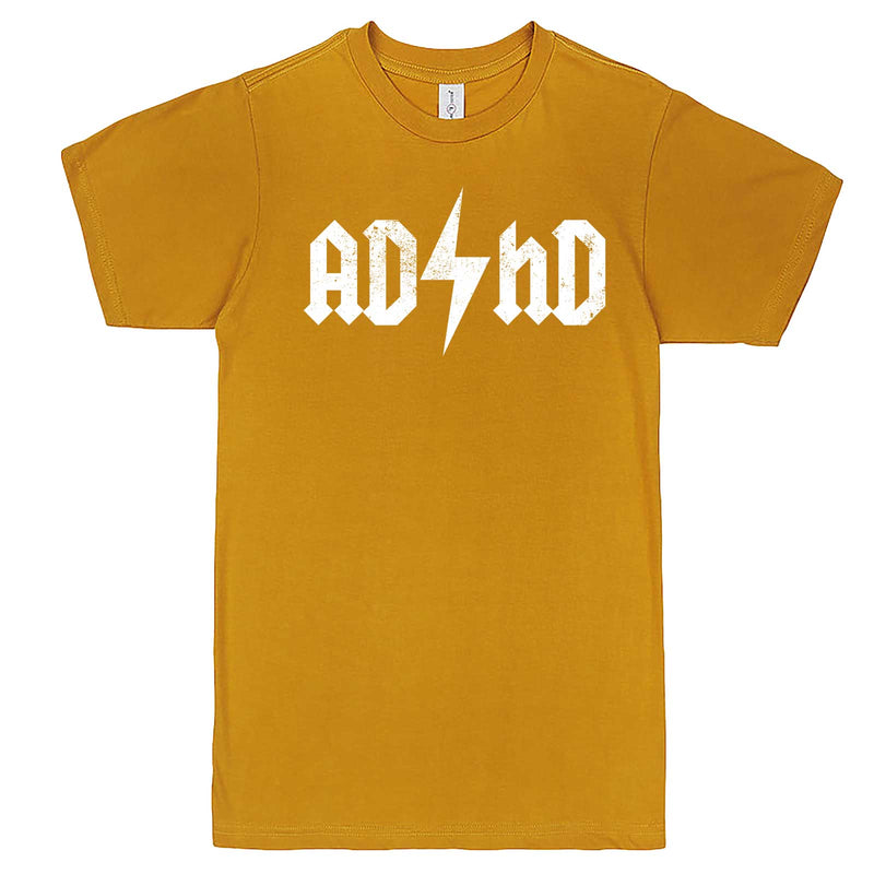 """AD/HD Concert Tee"" men's t-shirt Mustard"