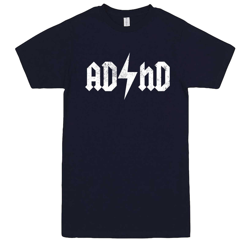 """AD/HD Concert Tee"" men's t-shirt Navy-Blue"