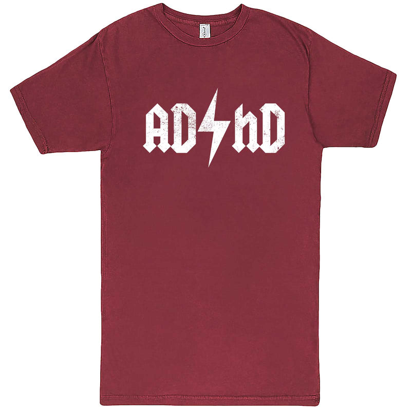 """AD/HD Concert Tee"" men's t-shirt Vintage Brick"