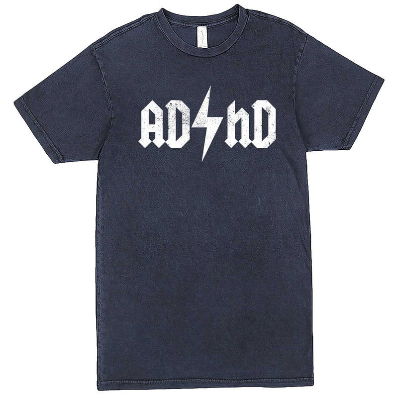 """AD/HD Concert Tee"" men's t-shirt Vintage Denim"