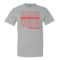 Antisocial T-shirt