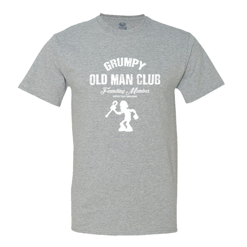 Grumpy Old Man Club - Men's T-Shirt