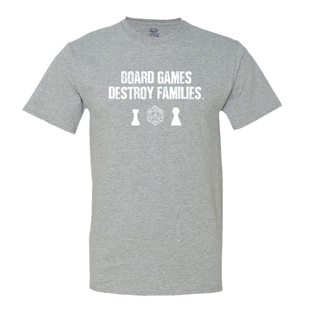 Board Games Destroy Families Men's T-Shirt