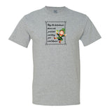 May The Leprechauns Dance Over Your Bed And Bring You Sweet Dreams Mens Tee