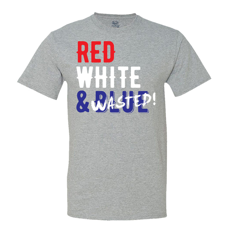 Red White & Wasted - Men's T-Shirt