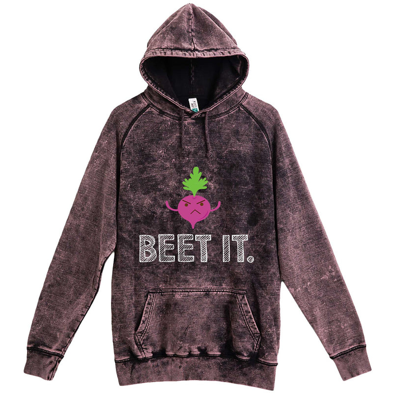 """Beet It"" hoodie, 3XL, Vintage Cloud Black"
