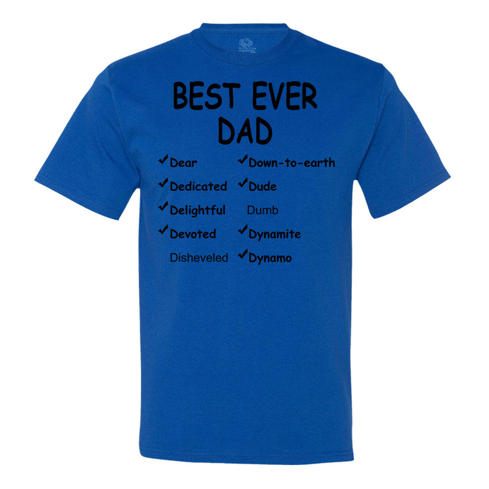 Best Ever Dad T-shirt