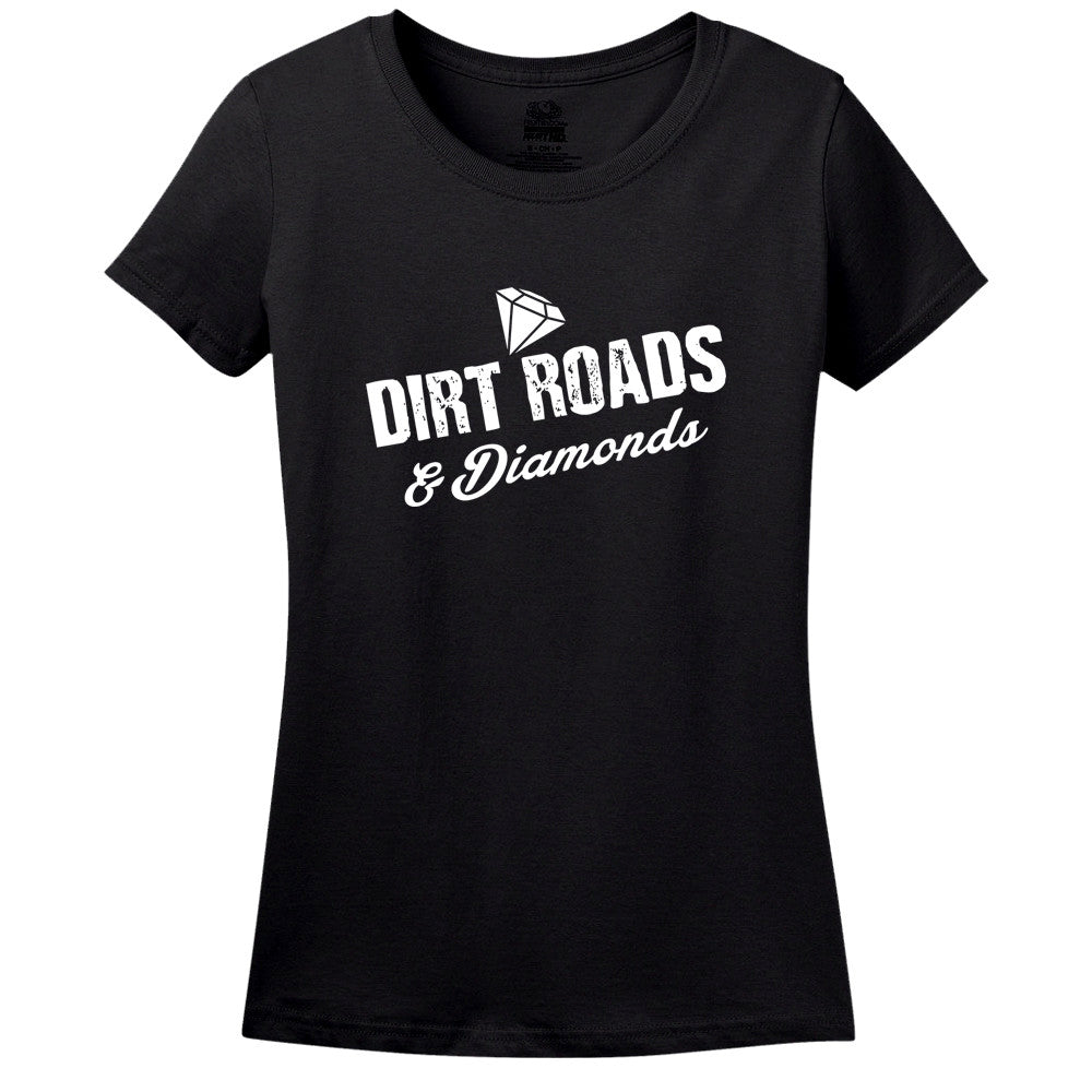Dirt Roads and Diamonds - Women's Tee
