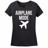 Minty Tees Airplane Mode Women's Tee Shirt